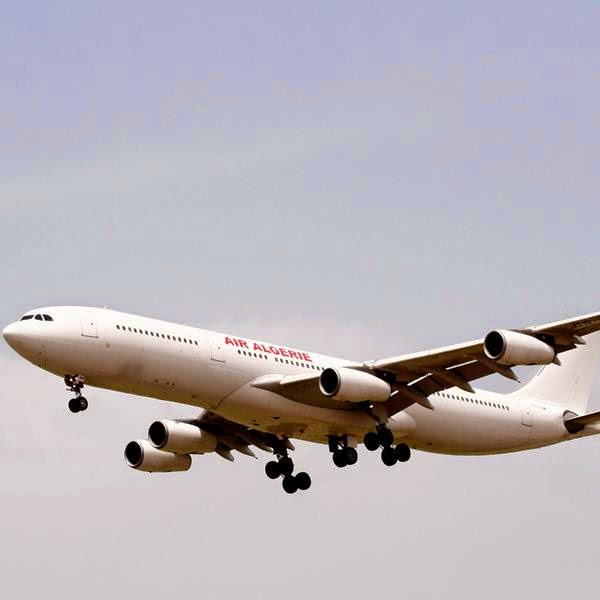 An Air Algerie plane with around 120 people on board including French and Spanish nationals went missing today during a flight from Burkina Faso to Algiers, company sources and officials said.