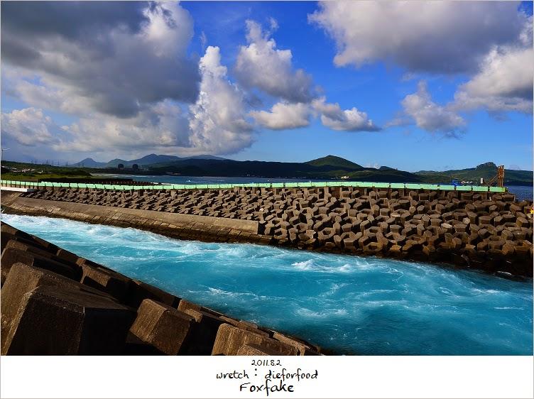 2011.8.2 核三廠出水口