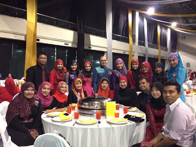Awesomazing Team at MIECC during Diamond Night Dinner