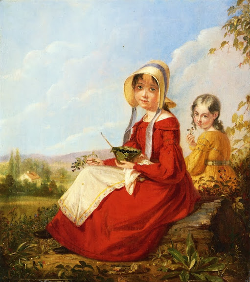 William Sidney Mount - The Blackberry Girls
