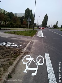 W minionym roku podwoiła się suma pasów ruchu dla rowerów