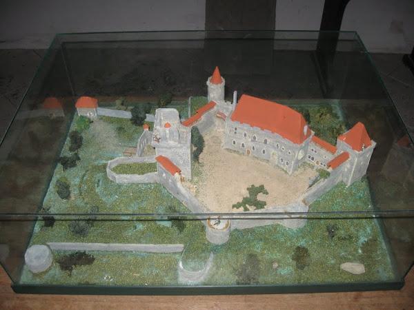Zamek Grodziec - makieta Zamku