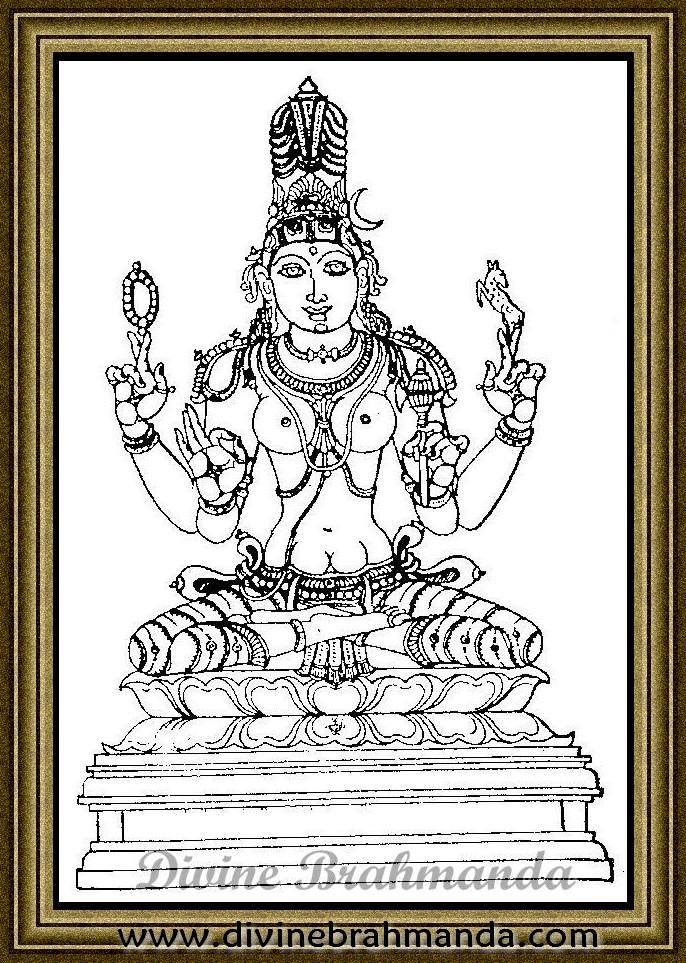 Soundarya Lahari Sloka, Yantra & Goddess To Pacify Angry Husband - 64