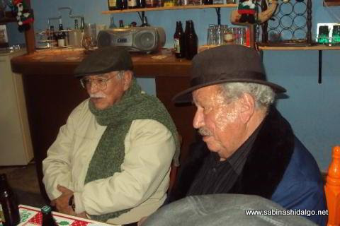 Profesores Santos Noé Rodríguez y Salvador Garza Inocencio