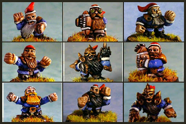 Impact Gnomos/Halflings Blood bowl