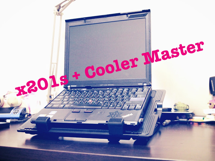 x201s + Cooler Master