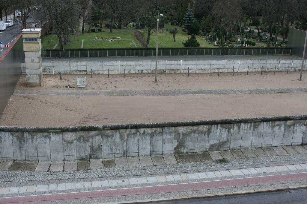 Mauer Gedenkstätte an der Bernauer Straße.