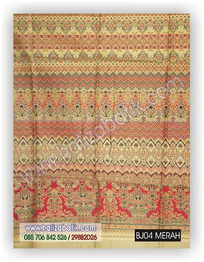 Gambar Batik Modern, Baju Modern, Baju Murah Online, BJ04 MERAH