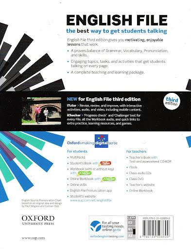 ENGLISH FILE Pre-Intermediate Third Edition MultiPack B w
