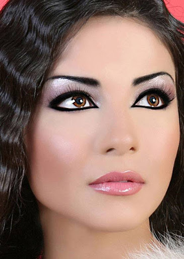 Arab Model Dolly Chahine beauty queen
