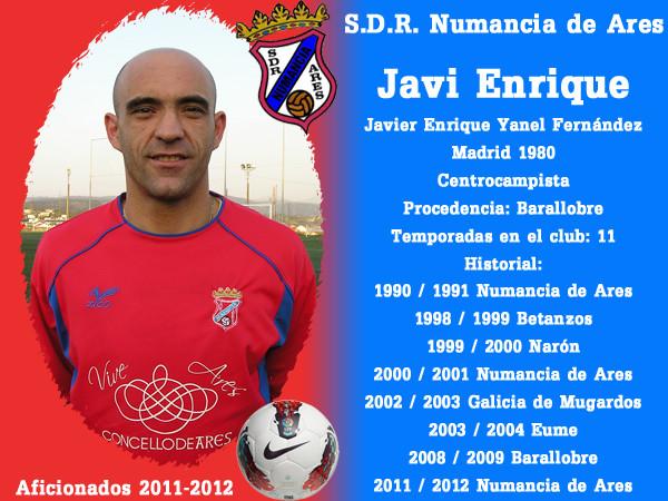 A.D.R. Numanciad de Ares. Javi Enrique.
