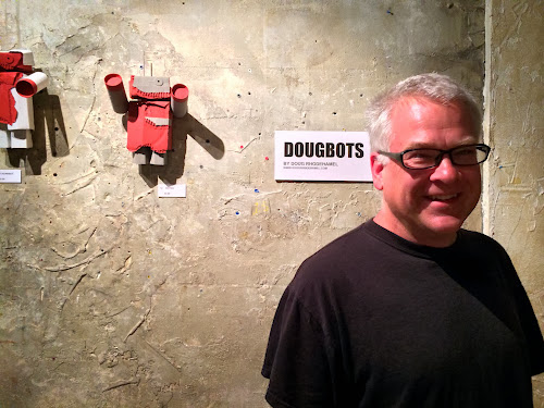 Photo Gallery: Doug Rhodehamel's DOUGBOTS at Stardust Video