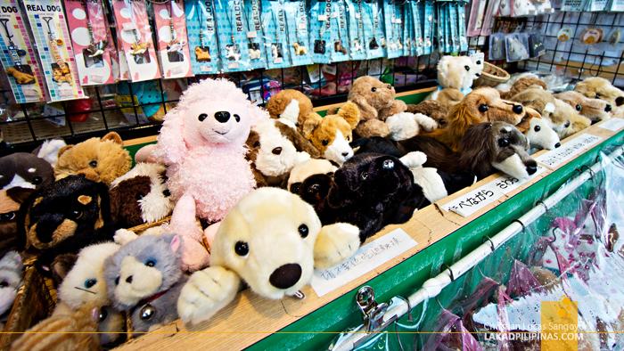 Dog Shop at Asakusa's Nakamise Shopping Street