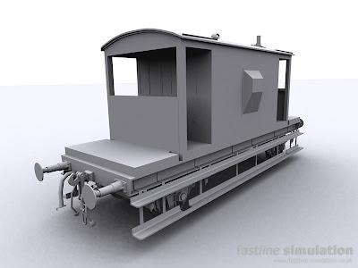 fastline simulation: dia 1/507 20T Brake Van