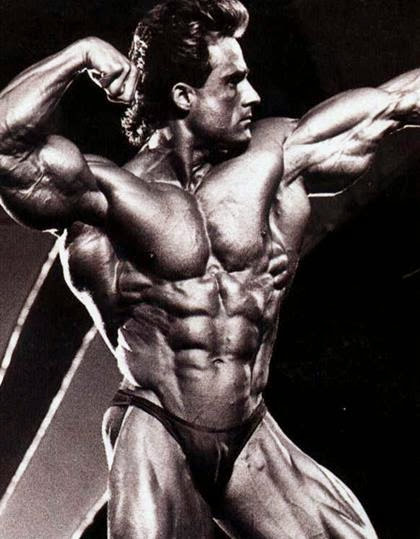 Retro Bodybuilder Photos Set, Classic on Stage
