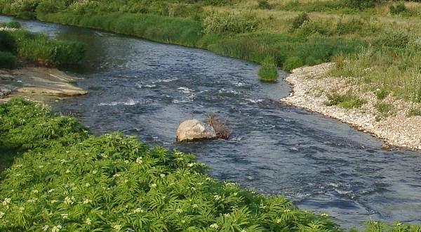 Горная река Тимок