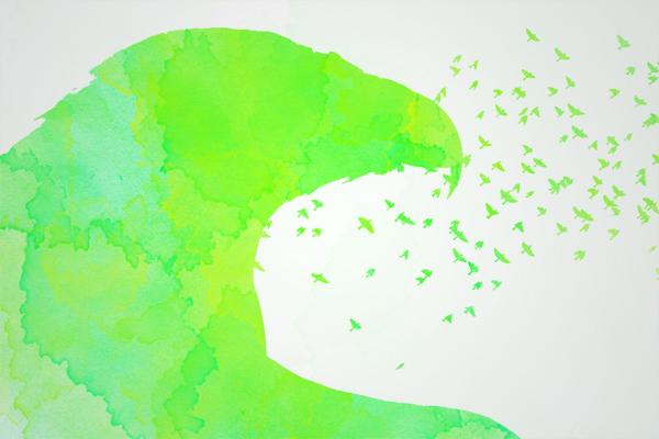 Efeito de Pintura Aquarela, final resultado 2
