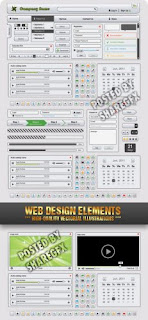 Web Design Elements High Quality Vectorial Ilustrations