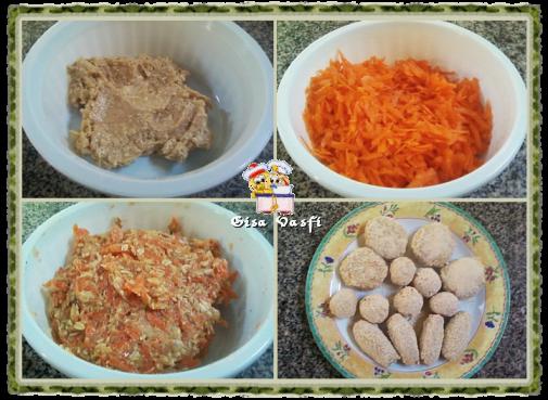 Nuggets de carne e de legumes 2