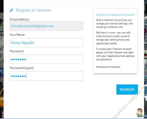 [Hướng dẫn] Tạo tên miền miễn phí cấp 1 với Freenom 545046fd66c41