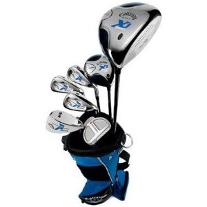 callaway xj junior 8 piece boy s golf club set 9 12 years. Black Bedroom Furniture Sets. Home Design Ideas
