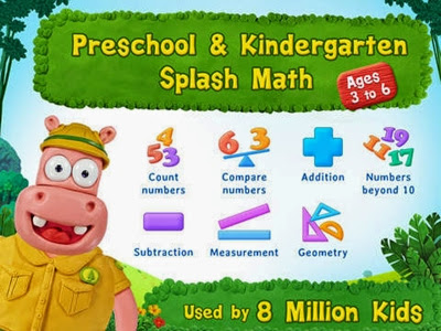 Preschool & Kindergarten Splash Math, mum finds, Reviews, other review, apps, educational apps for children, Free Math App
