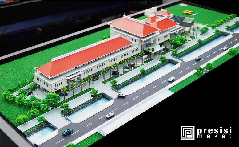 jasa pembuatan maket rumah sakit