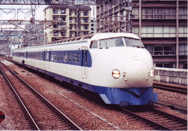 Tàu hỏa Shinkansen Series 0 trong thực tế