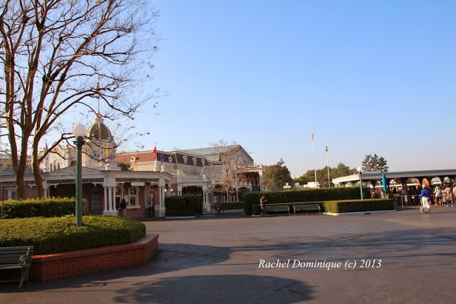Outside the gates of Tokyo Disneyland