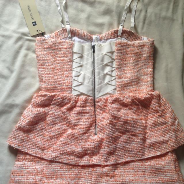 Felice Fabric ShellyAnne Bustier Tier Dress