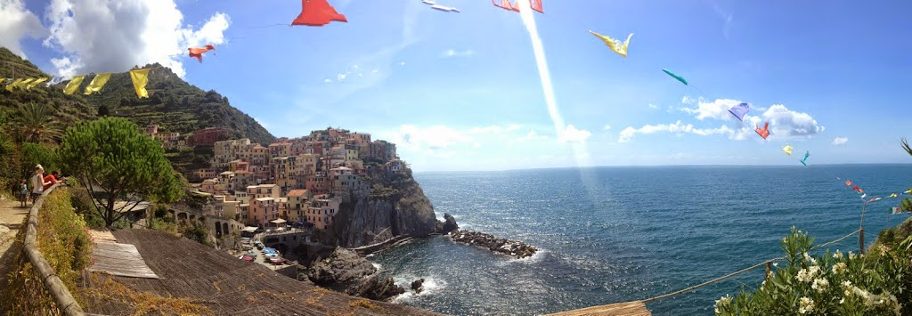 The gorgeous town of Manarola, Italy. #StudyAbroadBecause... the world is worth it!