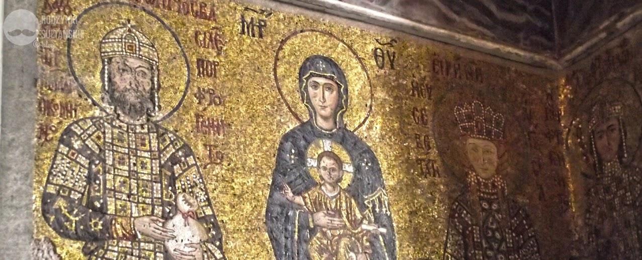 Mozaiki w Hagia Sophia.