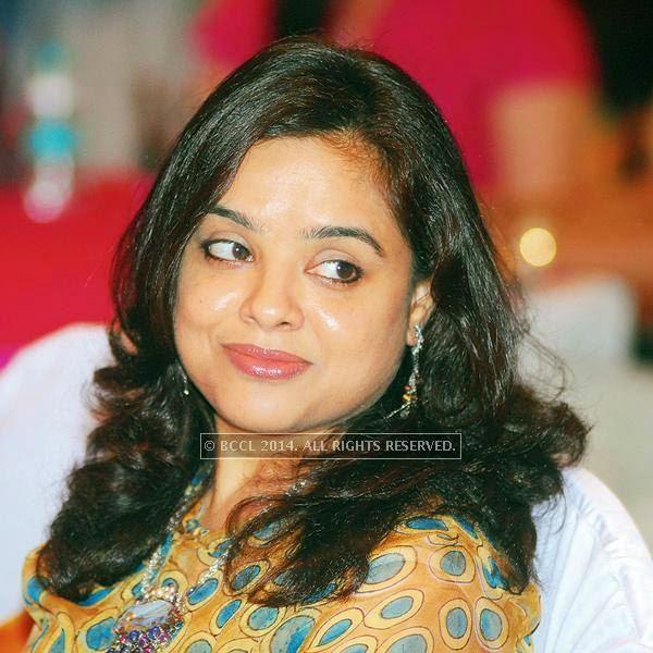 Bela Badhalia during the talk show, in Jaipur.