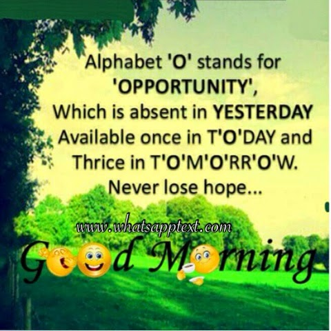 Today whatsapp quote !! Motivation quotes Opportunities quotes
