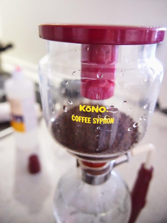 KONOサイフォンコーヒー