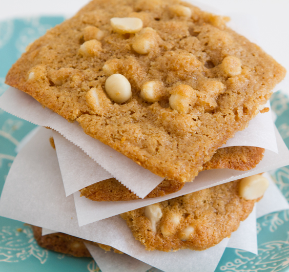 White chocolate walnut cookies recipes