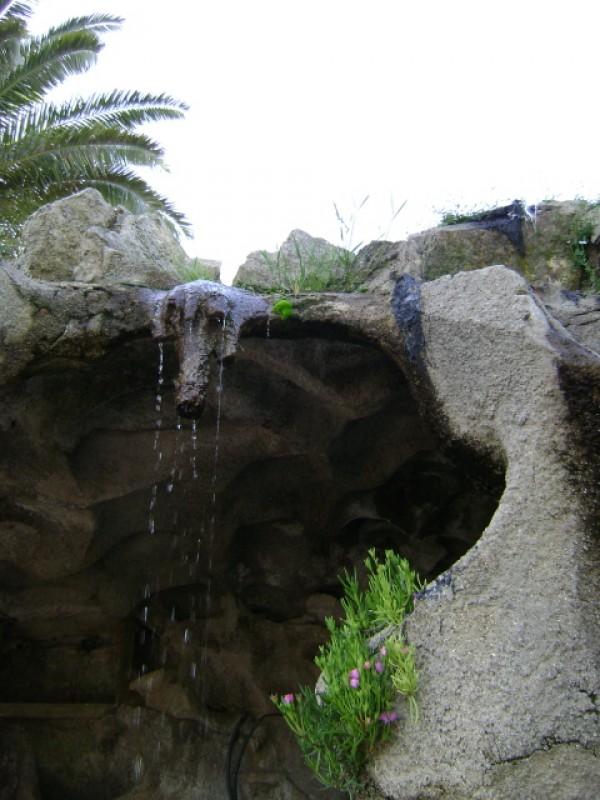 little waterfall..