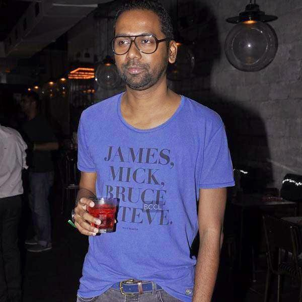 A guest at the launch party of Shopcade, a social online application for fashion, held at White Owl, on July 10, 2014.(Pic: Viral Bhayani)