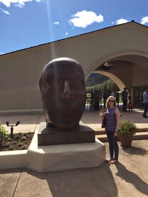 Mondavi sculpture