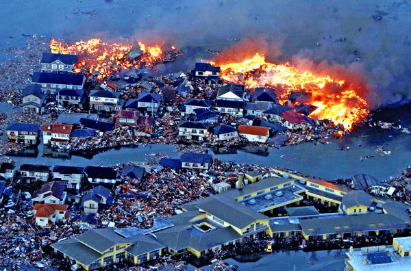 El tsunami que siguio al terre 10 fotos sorprendentes del terremoto de Japón