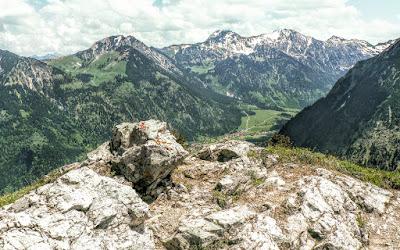 Blick über Sonthofen vom Imbergerhorn