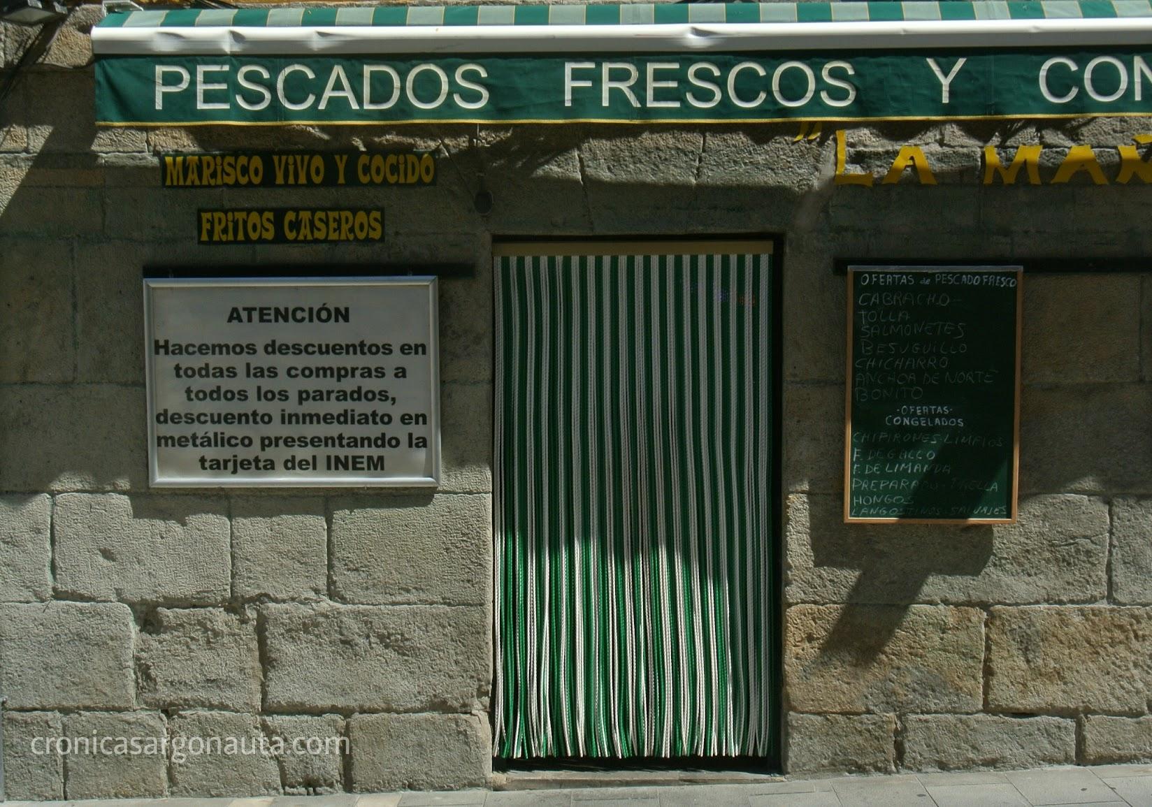 Tienda en Pamplona