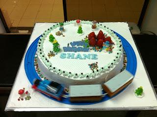 Haven Bakery Shane Birthday Cake X Mas Thomas Theme