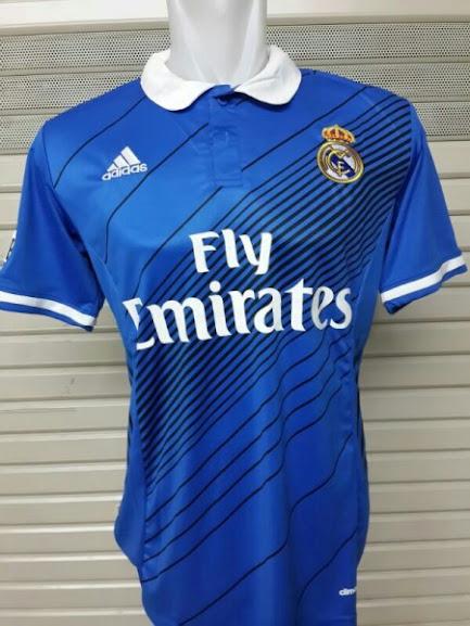 Jual Jersey Training Real Madrid Biru 2015