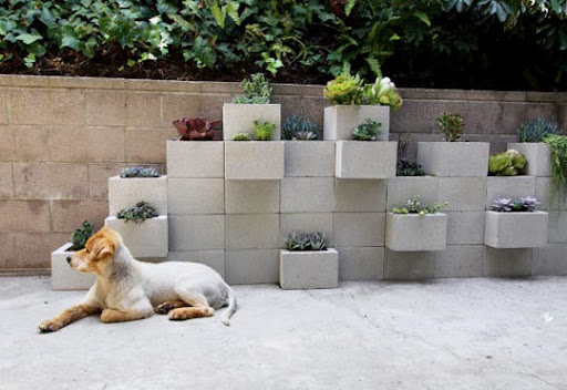 Recicle os blocos da construção