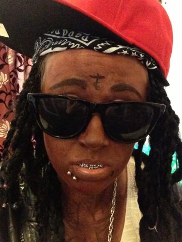 Sammi Jackson - Lil' Wayne Transformation
