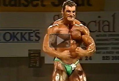 Hans Fell Body SM 1992 Posing