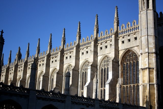 King's College at Cambridge University in England