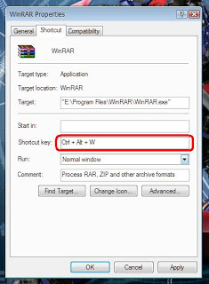 create keyboard shortcut for any program, make own keyboard shortcut,create keyboard shortcut