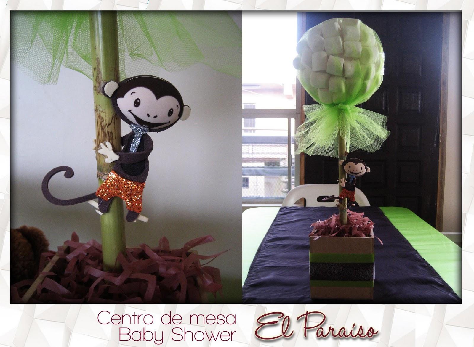 Centro De Mesa Babyshower Changuito